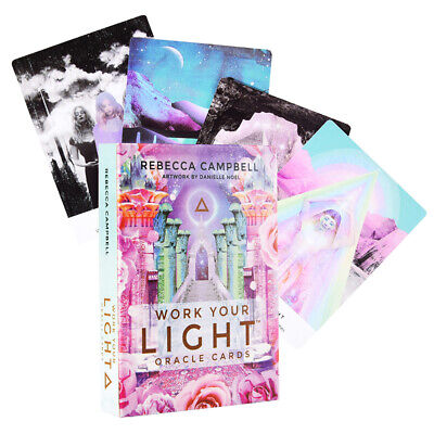 NEW Work Your Light Oracle Cards By Rebecca Campbell A 44-Card Deck Magic