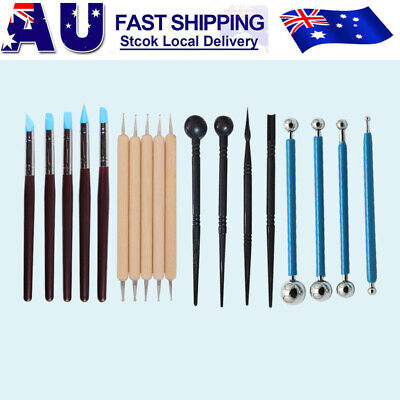 18X Carvers Clay Sculpting Carving Pottery Tools Polymer Modeling DIY Sculpture