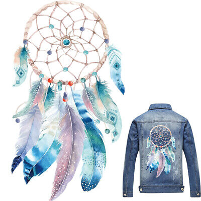 Dreamcatcher Heat Transfer Patch DIY Iron On Sticker Applique for Clothing