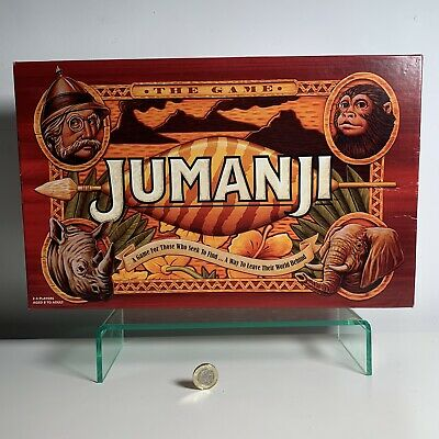 Jumanji The Game Board Game Rachel Lowe Ltd Complete 2018