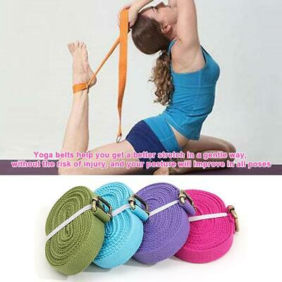Yoga Stretch Strap Belt Figure Waist Fitness Exercise Training  for Stretching