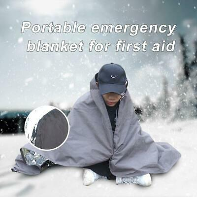 Camping Portable Emergency Blanket First Aid Survival Rescue Outdoor Portable