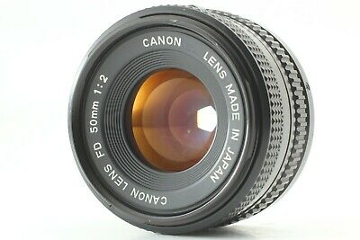 【EXCELLENT+++】 Canon New FD 50mm f/2 NFD MF Lens From Japan #0042