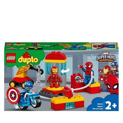 LEGO DUPLO Marvel Super Heroes Lab Set with Spiderman 10921 Age 2+ 30pcs