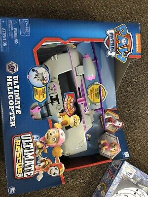 Paw Patrol Ultimate Rescue Skye's Ultimate Helicopter Skye & Marshal