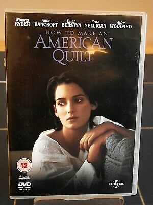 Like New! How To Make An American Quilt Winona Ryder, Anne Bancroft Dvd Free P&P