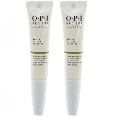 OPI Nail Cuticle Oil To Go Pro Spa Hydrating Nail Cuticle Treatment 2 X 7.5ml