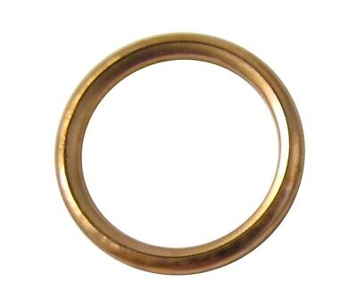 Exhaust Gasket Copper Type For Yamaha DT 125 (Single Shock) 1978