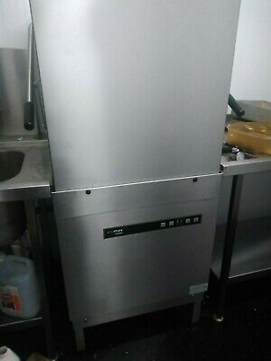 Hobart Ecomax Dishwasher, with load table and sink