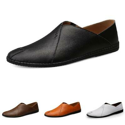 38-46 Mens Driving Moccasins Pumps Flats Slip on Loafers Shoes Comfy Soft Casual