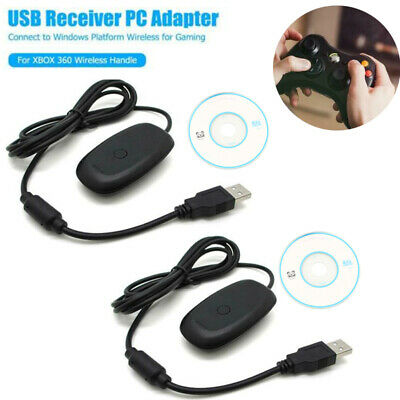 For Microsoft Xbox 360 USB Wireless Receiver Game Controller Adapter Brand New
