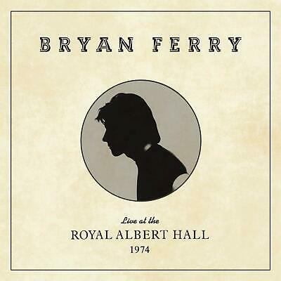 BRYAN FERRY LIVE AT THE ROYAL ALBERT HALL 1974 CD (Released 7/02/2020)