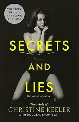 Secrets and Lies by Christine Keeler and Douglas Thompson Paperback NEW Book