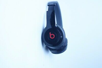 Beats By dr Dre Solo 2 Wired Headband Headphones Black color .