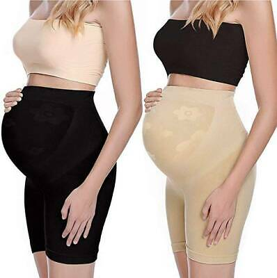 Maternity Shapewear Mid-Thighs Shaper Seamless Pregnancy Underwear Belly Support