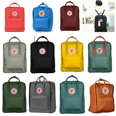 Unisex Fjallraven Kanken Backpack Sport Travel Shoulder Bag Rucksack 7L/16L/20L