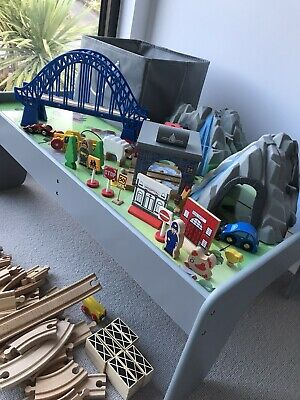 John Lewis Wooden Train Track Table