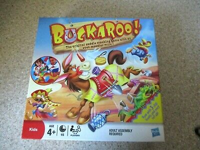 BUCKAROO - The Saddle Stacking Game With A Moody Mule! Hasbro Gaming 2011 - VVGC