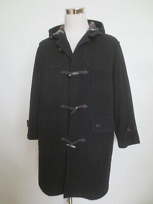 Dufflecoat NEW BRIGHT Mantel BURBERRY London El Corte Ingles ca 48 50 schwarz RH
