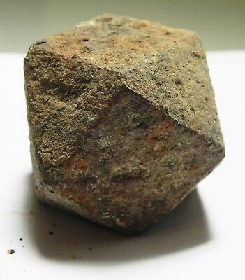 ZURQIEH -as16159-  ANCIENT ISLAMIC LARGE IRON WEIGHT. 700 - 1200 A.D. 1/2 RATL