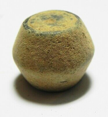 ZURQIEH -as16161-  ANCIENT ISLAMIC BRONZE WEIGHT. 600 - 800 A.D. 10 DIRHAMS