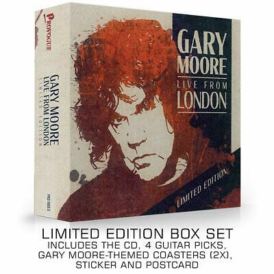 GARY MOORE LIVE FROM LONDON DELUXE CD (New Release February 7th 2020) -PRE-ORDER