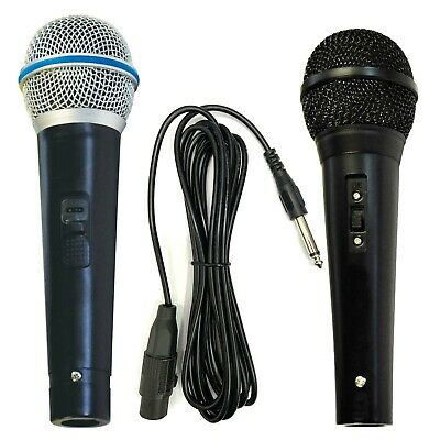 Microphone Heavy Duty Dynamic Directional Home Party DJ Karaoke Singing Mic XLR