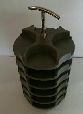 Stampin Up Embellishment Rotary Caddy, Carousel - Holds 24 Containers