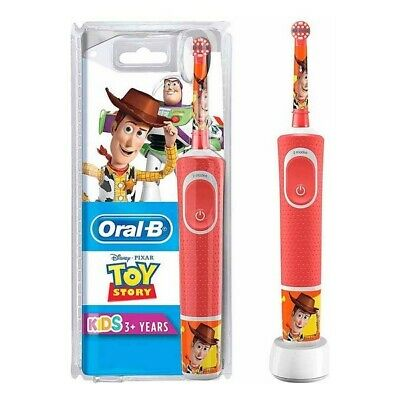 Oral-B Electric Toothbrush Toy Story Red Children Kids