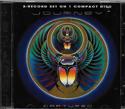 JOURNEY - Captured VG COND Remastered CD Steve Perry/Neal Schon/Ross Valory/AOR