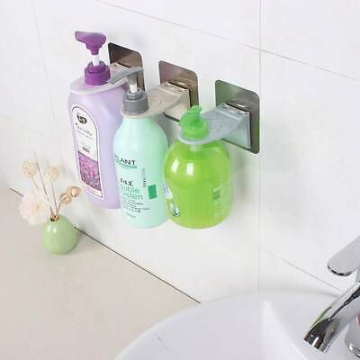 Rack Shower Gel Shampoo Soap Liquid Wall Mount Holder Bathroom Shelf  Z