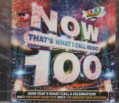 NOW THAT'S WHAT I CALL MUSIC 100 - CD album (2 CDs, 44 tracks - New & sealed)
