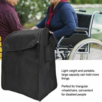 Sac de fauteuil roulant -Shopping Mobility Hanging Storage Bag Scooter Walker