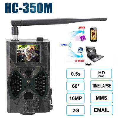 HC-350M 1080P HD Caméra de chasse Vision nocturne infrarouge Scouting Wildlife