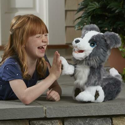 FurReal Ricky, the Trick-Lovin' Interactive Plush Pet Dog, 100+ Sound-and-Motion