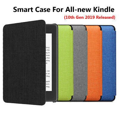 AU PU Leather Smart Case Cover For Amazon All-new Kindle 10th Gen 2019 Released