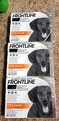 Frontline Plus 6 Pack 6 Month For small Dogs 0-22lbs
