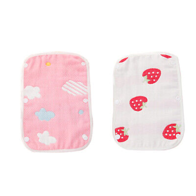 6layer Baby Infant Carrier Strap Cartoon Saliva Towel Soft Cotton Chewing Saliva