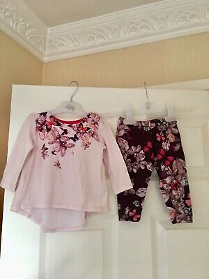 Ted Baker Baby Girls Dress Outfit Age 6-9 Months Lovely On Jewels Print