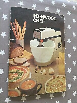 Kenwood Chef Instructions & Recipe Book For A901 Mixer Vintage Original
