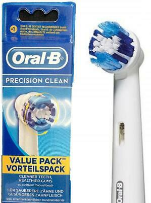BRAUN ORAL-B PRECISION ELECTRIC TOOTHBRUSH REPLACEMENT BRUSH HEADS color rings