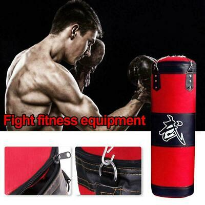 1Pc Boxing Heavy Punching Bag With Chain (Empty) Sandbags With accessories O9Q1