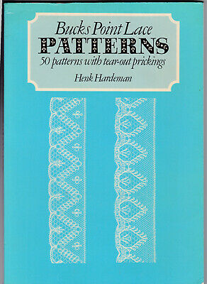 Bucks Point Lace Patterns , 50 With Tear Out Prickings.