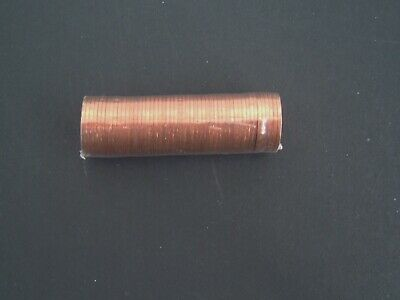 GB 1971 First Decimal 1/2p Halfpenny - Sealed Mint Roll 50 Coins. UK Post Free