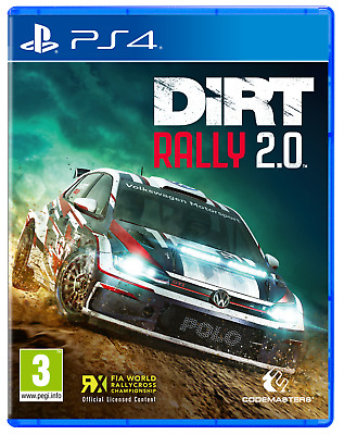 DIRT Rally 2.0 For PS4 (New & Sealed)