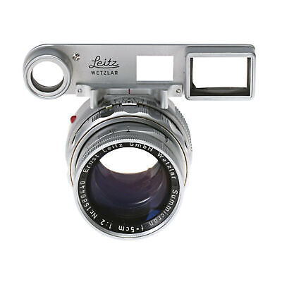 Leica Leitz Summicron 5cm (50mm) DR Manual Focus Prime M Mount Lens With Goggles