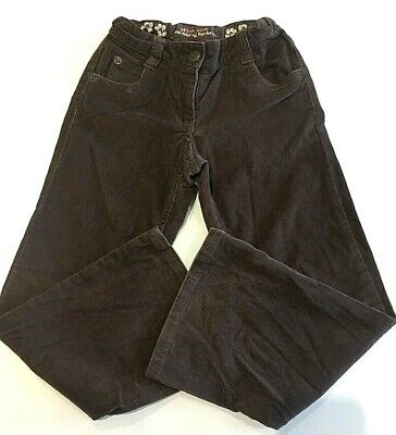 Monsoon Kids Girls Corduroy Trousers age 7-8 years elasticated adjustable used