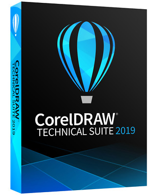CorelDraw Technical Suite 2019 LifeTime | for windows - Fast eDelivery