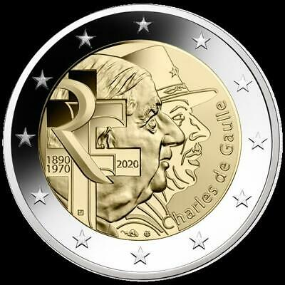 Francia 2020 Charles de Gaulle Proof