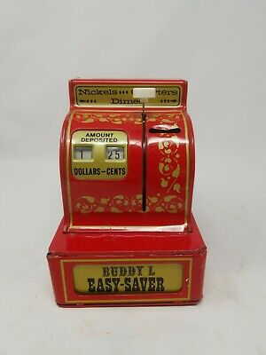BUDDY L Coin Easy-Saver register bank vintage toy